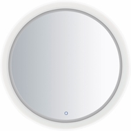 ET2 E42024-83 Mirror Contemporary White LED Round Mirror