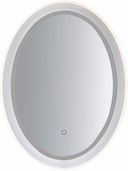 ET2 E42028-83 Mirror Contemporary White LED Oval Mirror