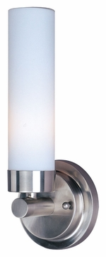 ET2 E53006-11 Cilandro I 12 Inch Tall Transitional Wall Light Sconce - Satin Nickel