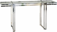 ET2 E71020-PC Rosen Contemporary Polished Chrome LED Coffee Table