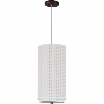 ET2 E95040 Elements Large Contemporary Pendant Light - Stem or Cord Mount