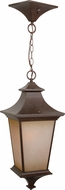 Craftmade Z1321-98 Argent Aged Bronze Exterior Hanging Lamp