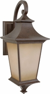Craftmade Z1324-98 Argent Aged Bronze Outdoor Large Wall Lamp
