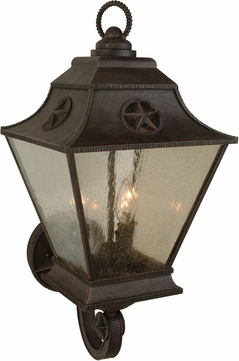 Craftmade Z1410 07 Chaparral Traditional Rust Exterior