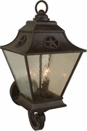 Craftmade Z1410-07 Chaparral Traditional Rust Exterior Large Wall Light Sconce