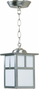 Craftmade Z1841-56 Mission Craftsman Stainless Steel Exterior Pendant Hanging Light