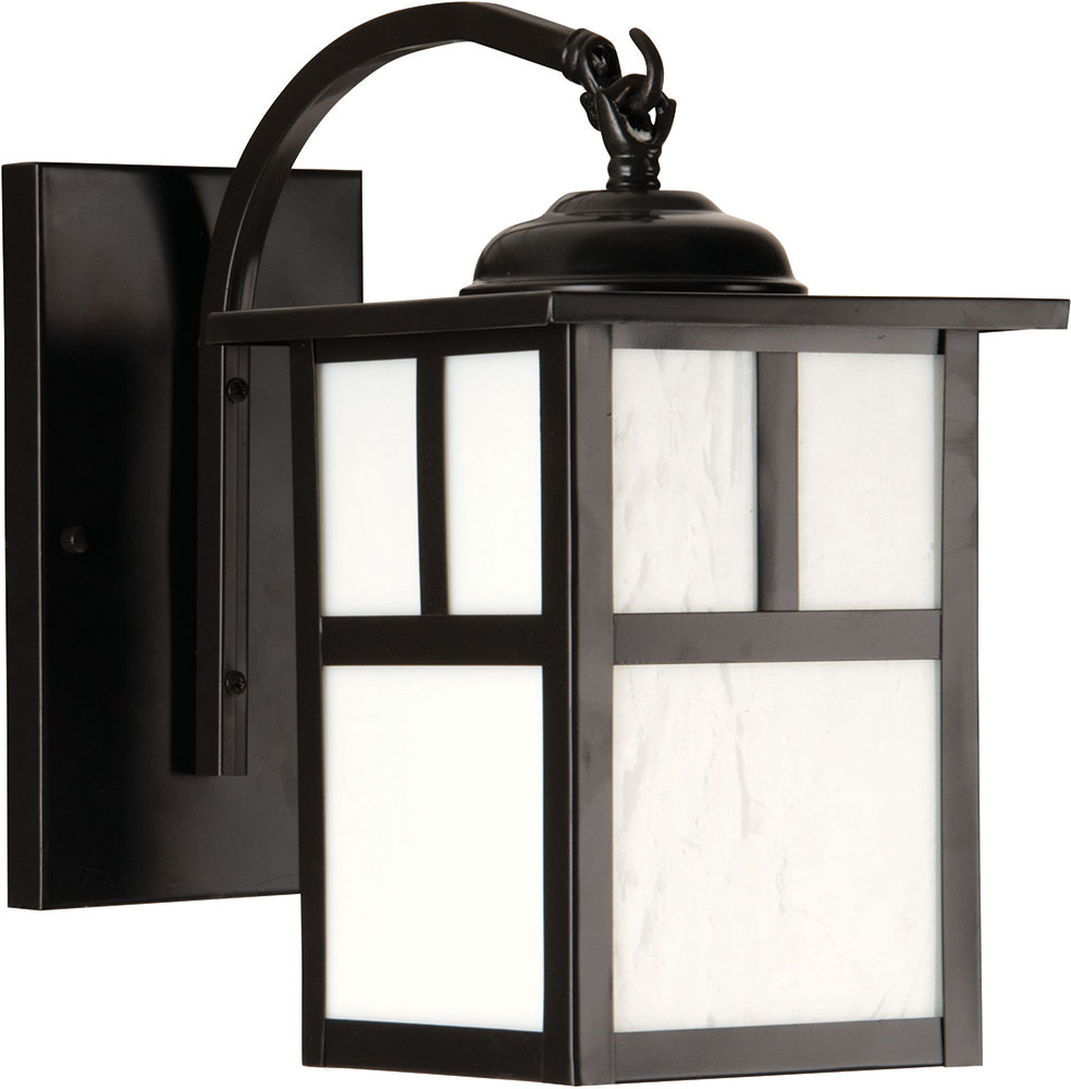low priced 699be e1378 Craftmade Z1844-7 Mission Craftsman Burnished Copper Outdoor Small Wall  Sconce Lighting