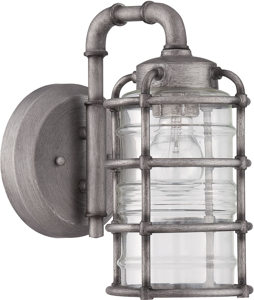 Craftmade Z2114 16 Hadley Retro Aged Galvanized Outdoor Small Lighting Wall Sconce