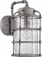Craftmade Z2134-16 Hadley Retro Aged Galvanized Outdoor Large Wall Light Sconce