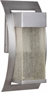 Craftmade Z2504-19-LED Ontario LED Modern Brushed Titanium Outdoor Small Lighting Wall Sconce
