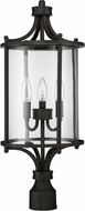 Craftmade Z2825-12 Carlton Aged Bronze Brushed Outdoor Lamp Post Light
