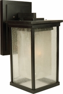 Craftmade Z3724-92 Riviera Modern Oiled Bronze Outdoor Large Wall Light Sconce