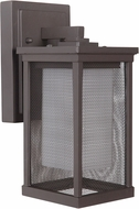Craftmade Z3754-92 Riviera II Contemporary Oiled Bronze Exterior Small Wall Light Sconce