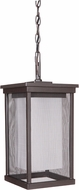 Craftmade Z3771-92 Riviera II Contemporary Oiled Bronze Exterior Pendant Lamp