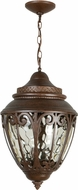 Craftmade Z3821-98 Olivier Old World Aged Bronze Exterior Hanging Lamp
