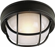 Craftmade Z394-05 Bulkhead Matte Black Outdoor Small Ceiling Light / Lamp Sconce