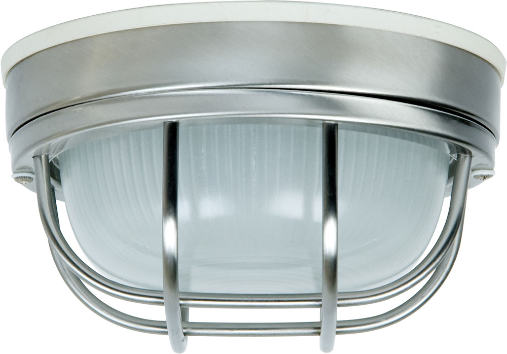 Craftmade Z394 56 Bulkhead Stainless Steel Outdoor Small Ceiling Lighting Fixture Wall Light