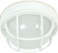 Craftmade Z395-04 Bulkhead Matte White Exterior Large Ceiling Light Fixture / Lighting Wall Sconce