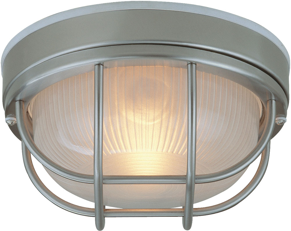 Craftmade Z395-56 Bulkhead Stainless Steel Outdoor Large Overhead Lighting / Wall Mounted L&. Loading zoom  sc 1 st  Affordable L&s & Craftmade Z395-56 Bulkhead Stainless Steel Outdoor Large Overhead ...