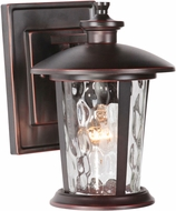Craftmade Z7104-88 Summerhays Oiled Bronze Gilded Outdoor Small Wall Sconce Light