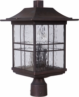 Craftmade Z7825-12 Dorset Aged Bronze Brushed Outdoor Post Lamp