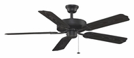 Fanimation Fans BP230BL1 Aire D�cor Damp-Rated 5 Blade Black Finish Home Ceiling Fan