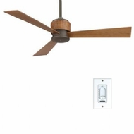 Fanimation Fans FP4620OB Zonix Contemporary Ceiling Fan in Oil Rubbed Bronze with Woven Housing
