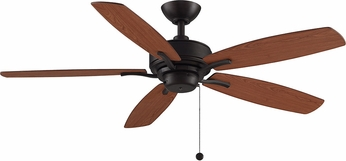 Fanimation FP6284DZ Aire Deluxe Dark Bronze 52  Home Ceiling Fan w/ Reversible Blades