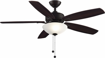 Fanimation Fans FP6285BDZ Aire Deluxe Dark Bronze LED 52  Home Ceiling Fan