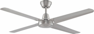 Fanimation Fans FP6717BN Ascension Contemporary Brushed Nickel Indoor / Outdoor 54  Ceiling Fan