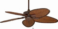 Fanimation Fans FP7500-RS Windpointe 5-Blade Ceiling Fan in Rust or Pewter