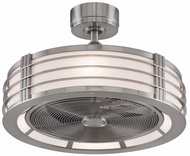 Fanimation Fans FP7964BBN Beckwith Contemporary Brushed Nickel LED 23  Ceiling Fan