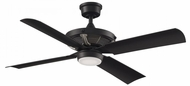 Fanimation Fans FP7996BLBNW Pickett Contemporary Black LED 52  Home Ceiling Fan