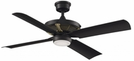 Fanimation Fans FP7996BLBSW Pickett Modern Black LED 52  Ceiling Fan
