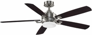 Fanimation Fans FP8003BBN Benito v2 Brushed Nickel LED 52  Home Ceiling Fan