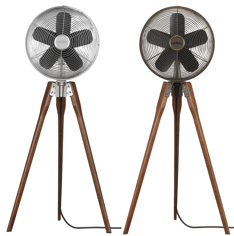 Fanimation Fp8014 Arden Tripod Oscillating Floor Fan In
