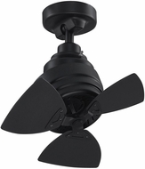 Fanimation Fans FP8018BL Rotation Contemporary Black 19  Ceiling Fan