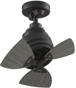 Fanimation Fans FP8018GR Rotation Contemporary Matte Greige 19  Ceiling Fan