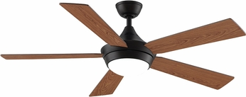 Fanimation Fans FP8062DZ Celano V2 Dark Bronze LED 52  Home Ceiling Fan Fixture w/ Reversible Blades
