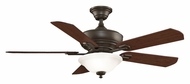 Fanimation Fans FP8095OB Camhaven Transitional Oil Rubbed Bronze Finish Indoor Ceiling Fan - 5 Blades