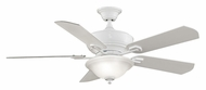 Fanimation Fans FP8095WH Camhaven White Finish 52 Inch Sweep Transitional Indoor Ceiling Fan