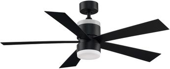 Fanimation FP8458BL Torch Contemporary Black LED 52  Ceiling Fan