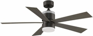 Fanimation Fans FP8458GR Torch Modern Matte Greige LED 52  Home Ceiling Fan