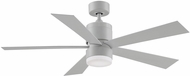 Fanimation Fans FP8458MW Torch Contemporary Matte White LED 52  Ceiling Fan
