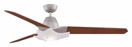 Fanimation Fans FPD6220SN Wylde Contemporary 3 Blade 72 Inch Sweep Satin Nickel Ceiling Fan