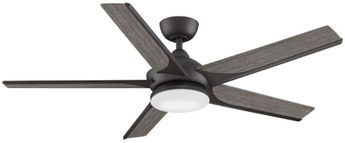Fanimation FPD6228GR Subtle 56 Matte Greige LED 56  Ceiling Fan