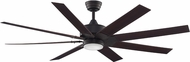 Fanimation Fans FPD7916DZ Levon Dark Bronze LED Interior / Exterior 63  Home Ceiling Fan