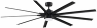 Fanimation Fans FPD8159BLW Odyn 84 Modern Black LED 84  Home Ceiling Fan