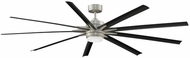Fanimation Fans FPD8159BNWBL Odyn 84 Contemporary Brushed Nickel LED 84  Ceiling Fan