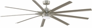 Fanimation Fans FPD8159BNWBN Odyn 84 Modern Brushed Nickel LED 84' Home Ceiling Fan